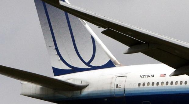 A United Airlines plane was evacuated in Chicago