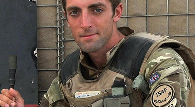 Lieutenant Neal Turkington, who was killed by a rogue Afghan soldier in Helmand Province