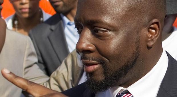 Wyclef Jean is running for president of Haiti in the next election