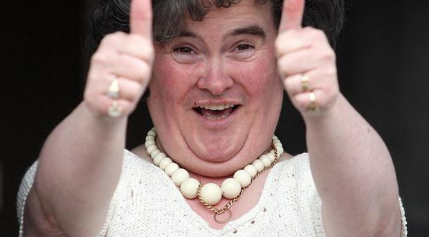 Susan Boyle has been linked to a future episode of Glee