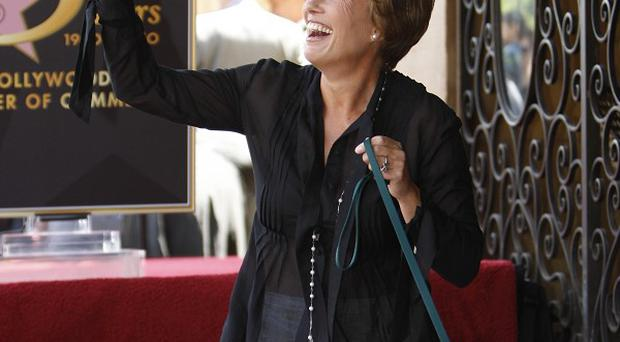 Emma Thompson was honoured with a star on the Hollywood Walk of Fame
