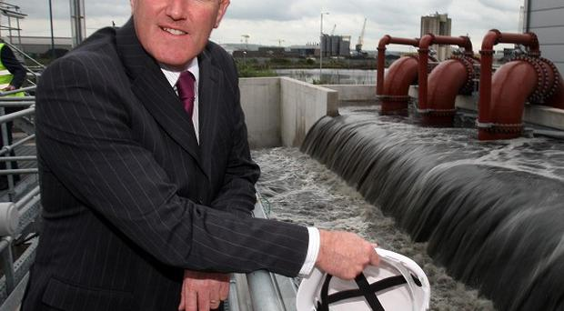Conor Murphy has described difficulties in appointing a new chairman for the Northern Ireland Water Board