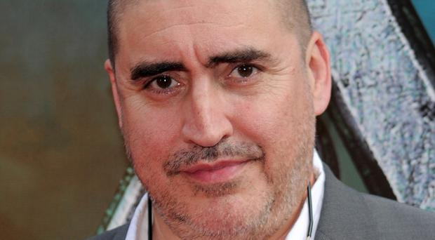 Alfred Molina says he's happy playing bad guys