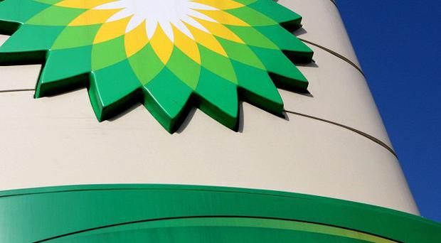BP said the cement has set on the oil leak plug