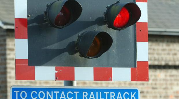 A 16-year-old boy has died when he was struck by a train moments after a police pursuit ended
