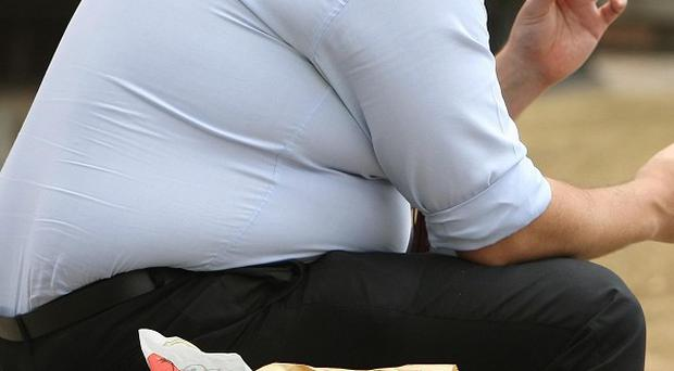 Scientists found that having a large waistline doubled the likelihood of an early grave