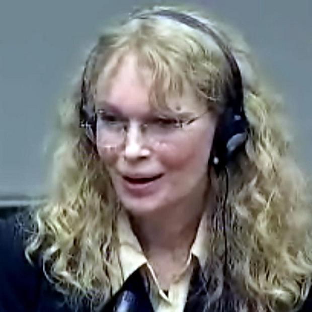 Mia Farrow gives evidence at Charles Taylor's war crimes trial