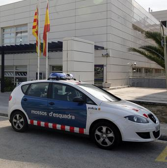 Spanish police confirmed that two toddlers died in a car crash