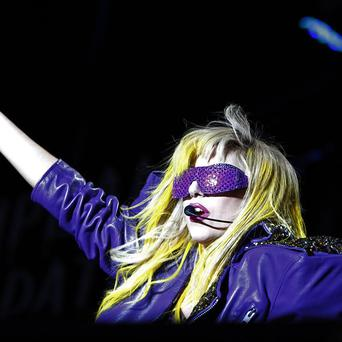 Lady Gaga returned to the Lollapalooza music festival in Chicago
