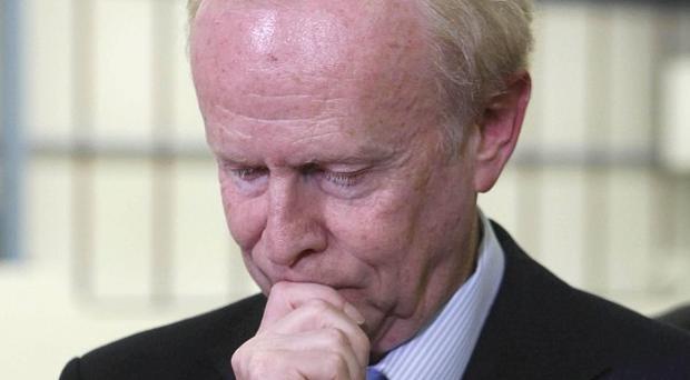 Sir Reg Empey will stand down as the UUP leader