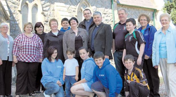 Members of Killelagh Parish and people from the Swatragh community are coming together to raise funds for a new roof for the church