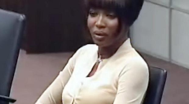 Naomi Campbell says she has no reason to lie over the 'blood diamonds' allegations