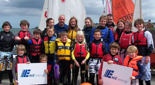 NIE Energy has donated training equipment to Holywood Yacht Club- Junior Section