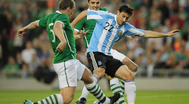 Republic of Ireland v Argentina, 11 August 2010
