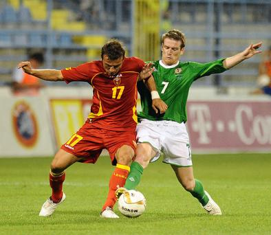 Montenegro v Northern Ireland, 11 August 2010