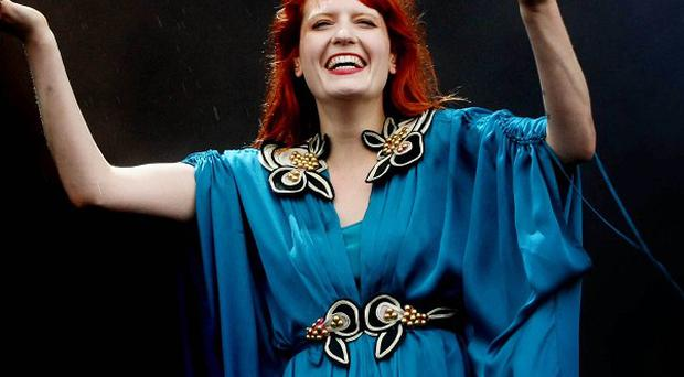 Florence Welch says she has pocked money from her record label
