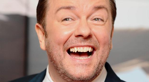 A little-known author claims Ricky Gervais used his ideas