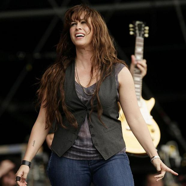 Alanis Morissette has announced she is pregnant