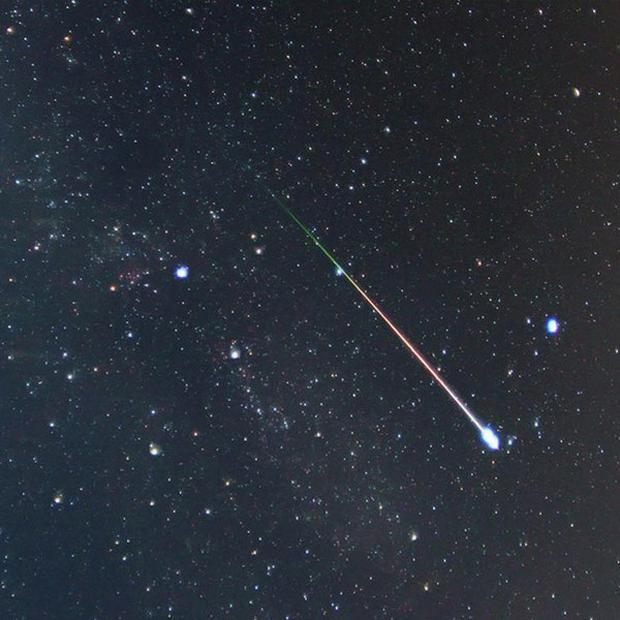 Shooting stars are set to provide a dazzling display of celestial fireworks across the UK