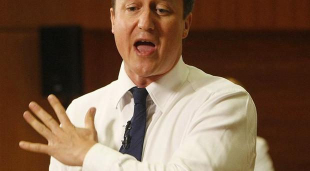 David Cameron said he is sympathetic to local moves to impose a minimum price for alcohol