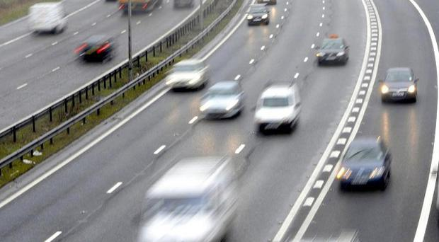 As many as 74 per cent of drivers admitted to getting behind the wheel when tired