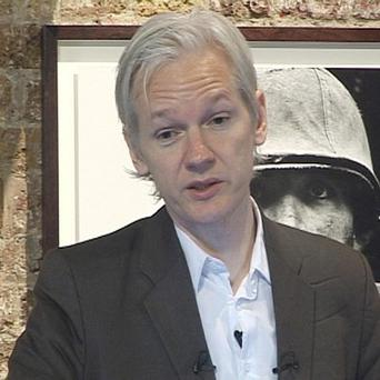 WikiLeaks spokesman Julian Assange said he had no intention of holding back the documents
