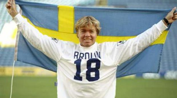 <b>Tomas Brolin</b><br/> A star in the European Championships of 1992, injury had already left Brolin a little on the tubby side, but Leeds seemed to pay by the ounce and got little back, aside from a Keith Chegwin stunt double.