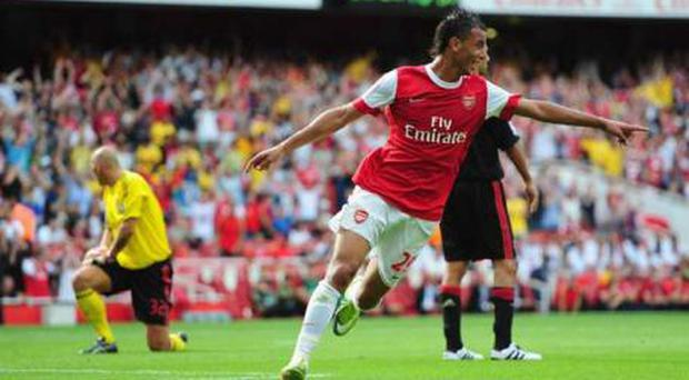 <b>Marouane Chamakh - Arsenal (£10.4m)</b><br/> Wenger prised French-Moroccan striker Chamakh from Bordeaux at the start of July. He's a big feller who averages a goal every other game for his country, though he never quite managed to be that prolific for his old club. However, he's already scored three in his first pre-season with Arsenal, and he's beginning to look like he might be a dangerous replacement for the departed Eduardo.