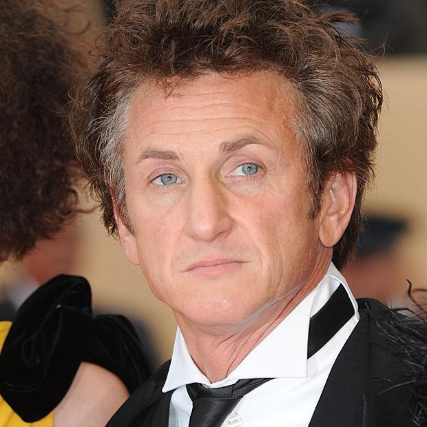 Sean Penn will play a rock star in the film