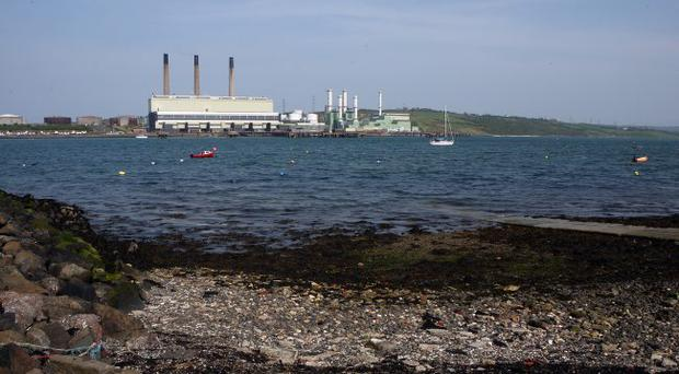 Ballylumford power station in Larne has been bought over by US firm AES in a deal worth £102m