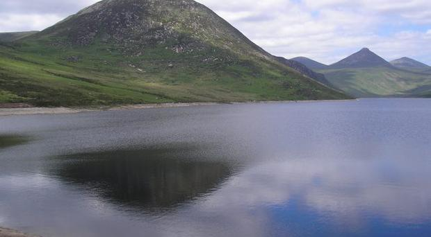 Mourne Mountains viewed from Silent Valley Mountain Park. Picture by Ann Haffey