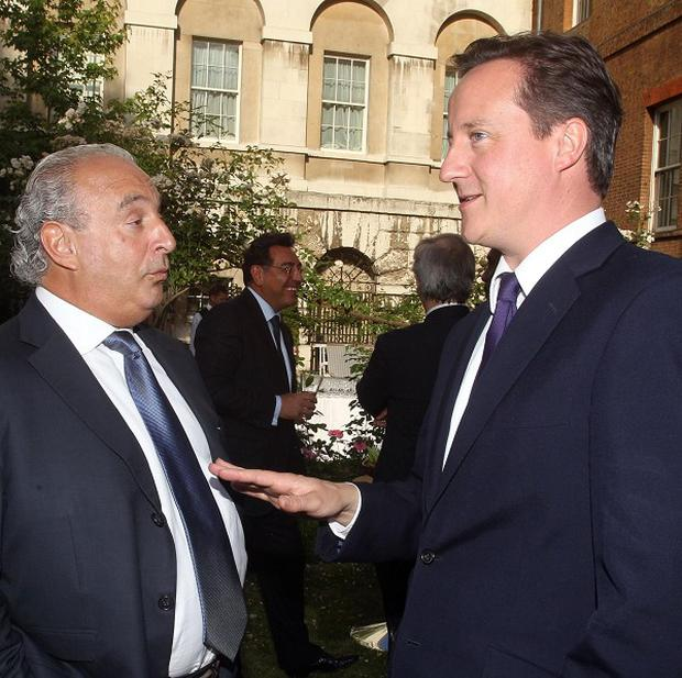 David Cameron has recruited Sir Philip Green to head the spending review
