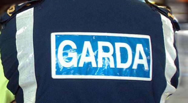 Two men have appeared in court over an attempted armed robbery in a Dublin city centre store