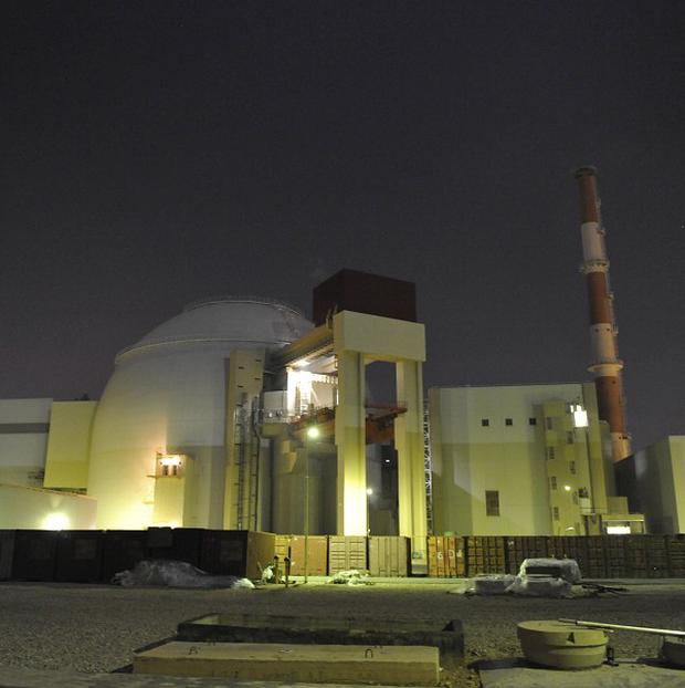 The reactor building of Iran's Bushehr Nuclear Power Plant (ISNA)