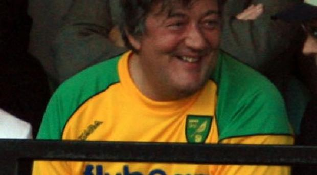 Stephen Fry has joined the board of Norwich City