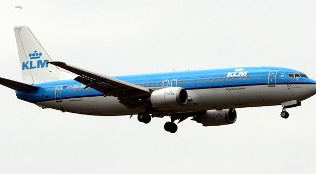 Dutch airline KLM is under pressure over compensation of British travellers during the volcanic ash cloud crisis