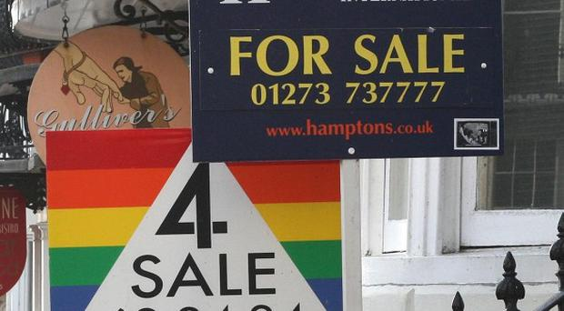 Property asking prices fell for the second month in a row, research found