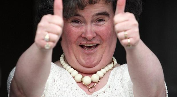 Susan Boyle has chosen an amateur singer to duet with her