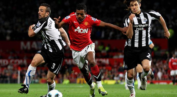 Manchester United v Newcastle, Old Trafford, 16 August 2010