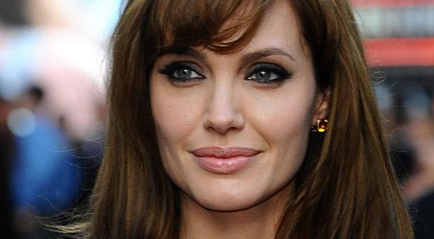 Angelina Jolie at the gala premiere of Salt at the Empire, Leicester Square
