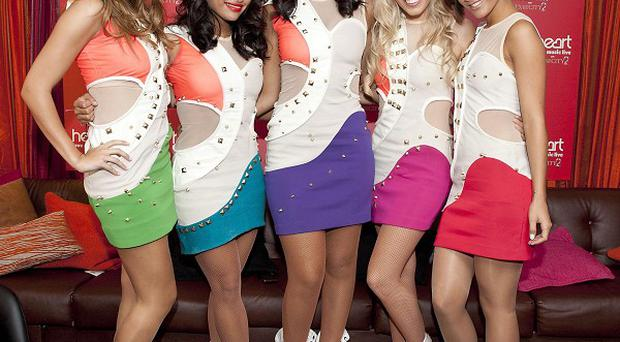 The Saturdays were beaten to the No 1 spot by Flo Rida