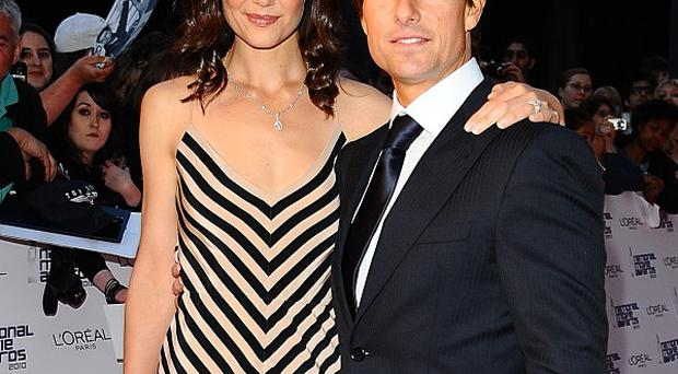 Katie Holmes says she is still in awe of Tom Cruise's career