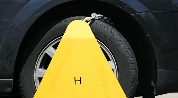 Cowboy wheel clampers are to be banned from operating on private land