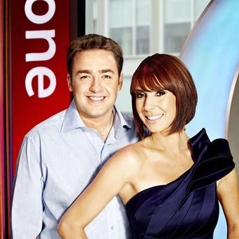 Alex Jones and Jason Manford had a successful start on the new look The One Show