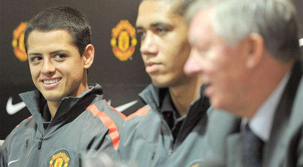 Sir Alex Ferguson's signings of the likes of Javier Hernandez and Chris Smalling have been dwarfed by those at nearby Manchester City