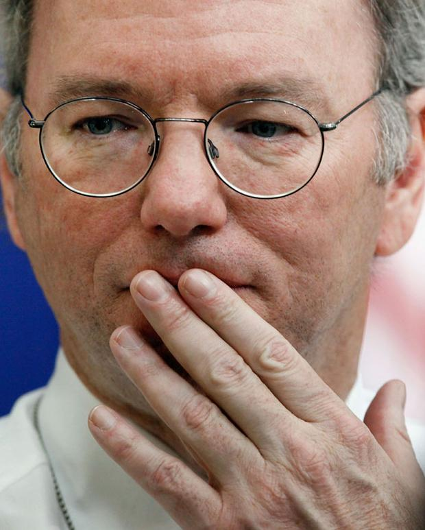 Google's executive chairman Eric Schmidt