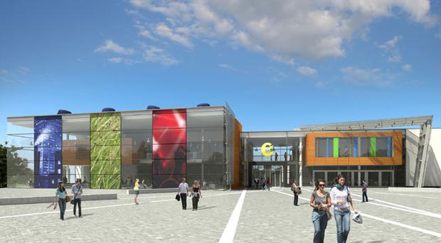 Artist's impression for the new Belfast Metropolitan College