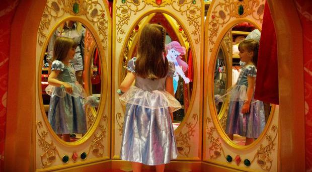 The Magic Mirror in the Disney Store which reopens today, the only store of its kind in Ireland and the first to reopen in the UK