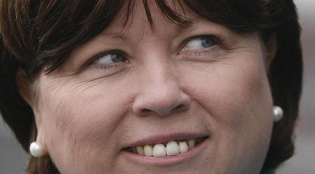 Mary Harney said the waiting time for medical card applications is being slashed to 15 days