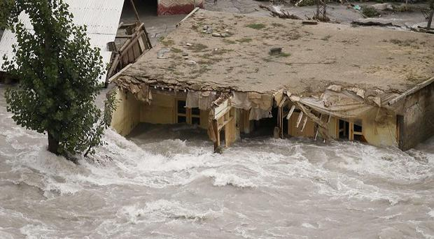 More than £250,000 has been donated from Northern Ireland for Pakistan flood relief efforts. (AP)